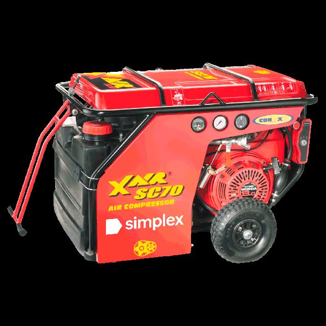 Compressor 70cfm gas