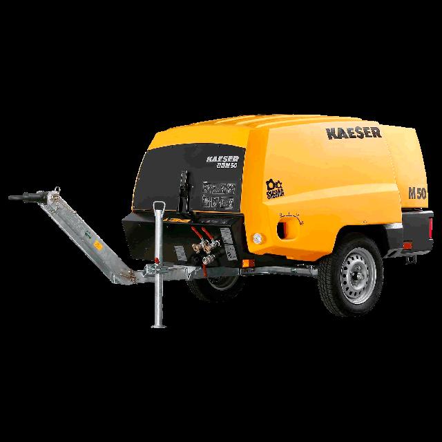 Compressor 185cfm diesel