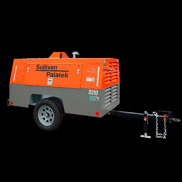 Compressor 210cfm diesel