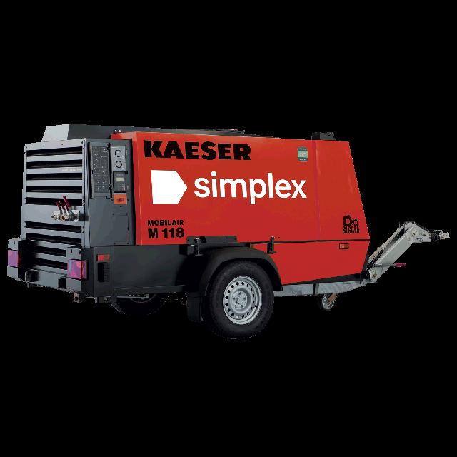 Compressor 405cfm diesel