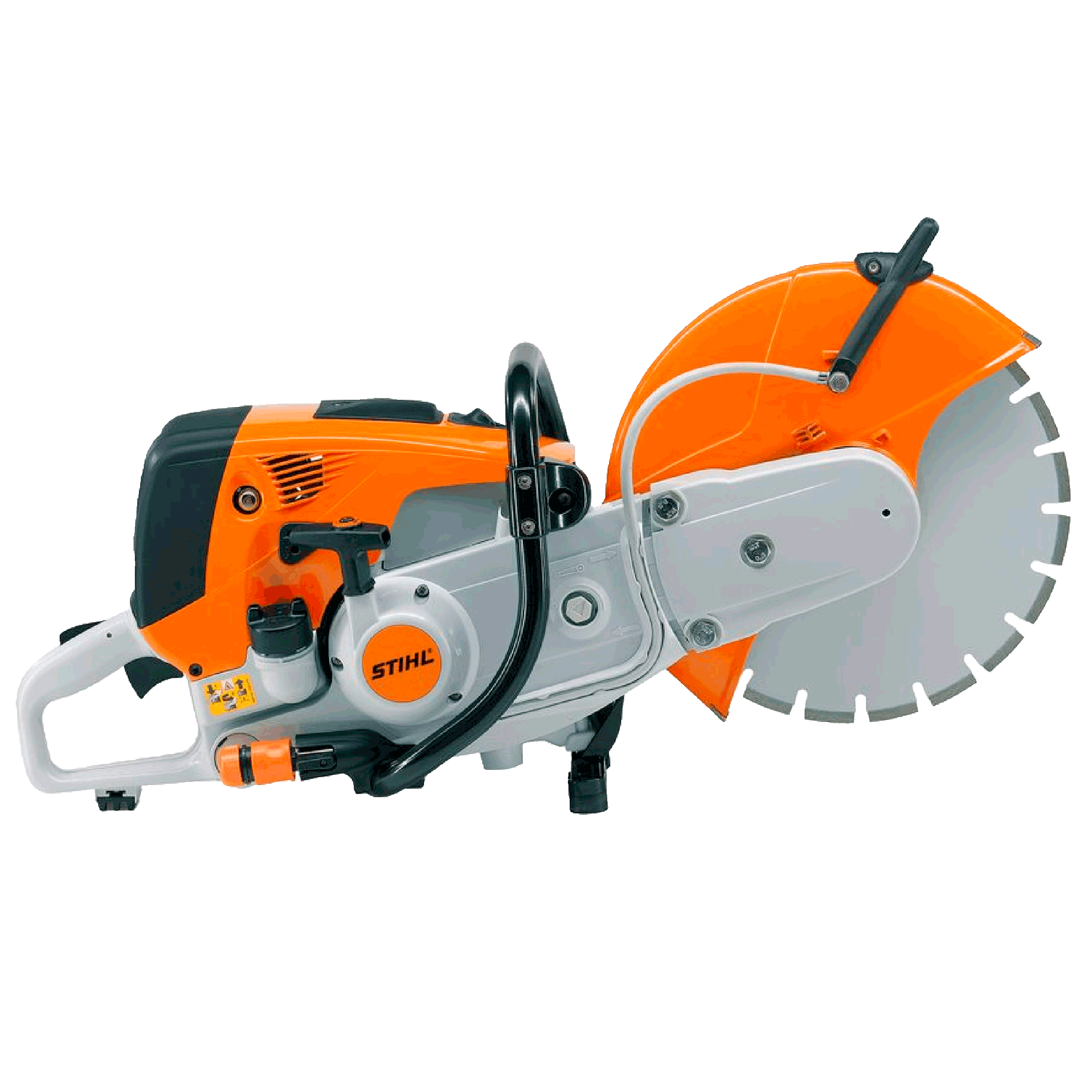 Portable concrete saw 14in mixed gas