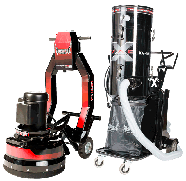 Concrete grinder 21in electric