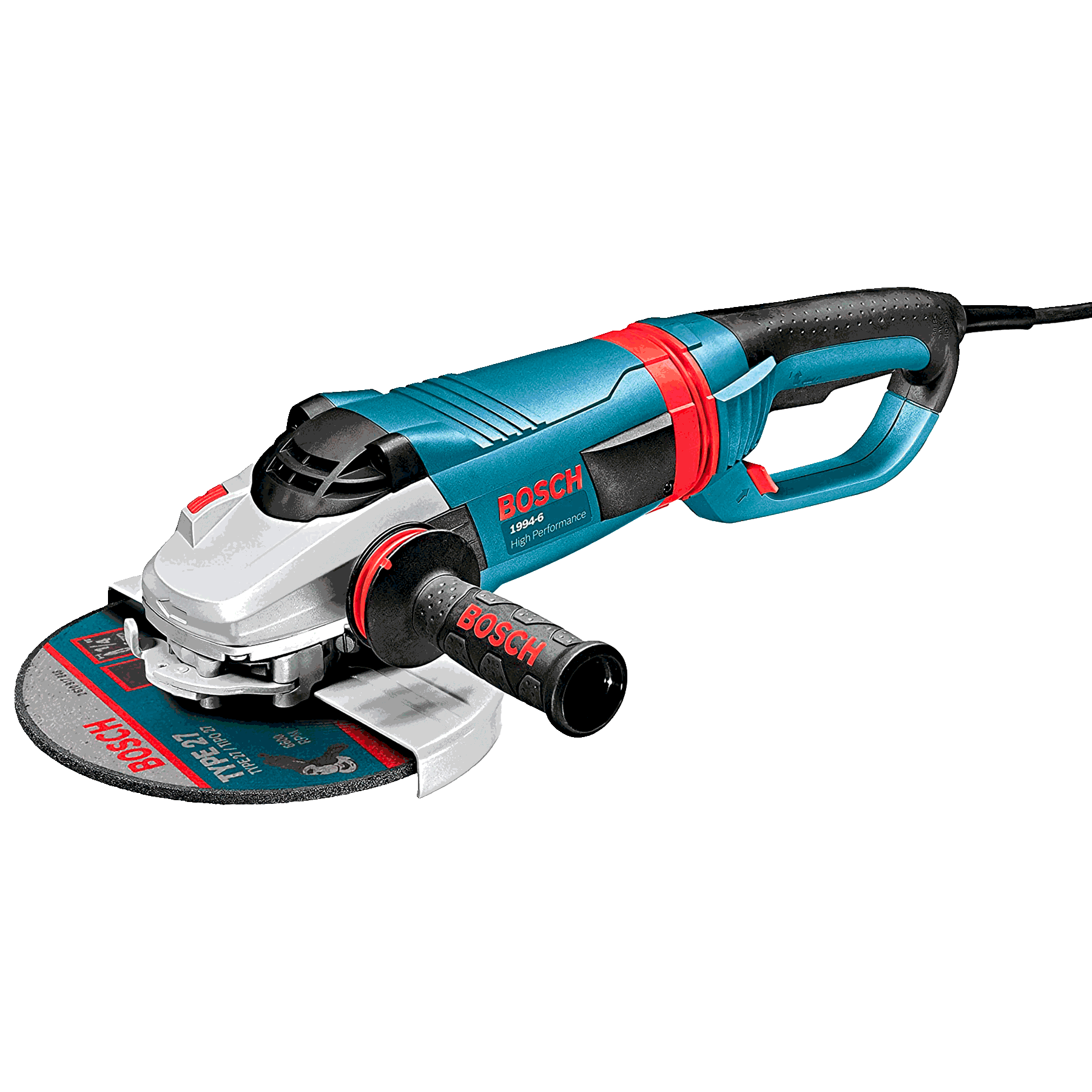 Angle grinder for concrete 9in