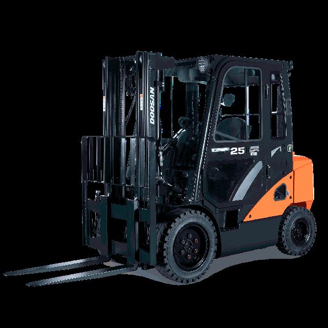 Forklift 5000lbs 15ft propane
