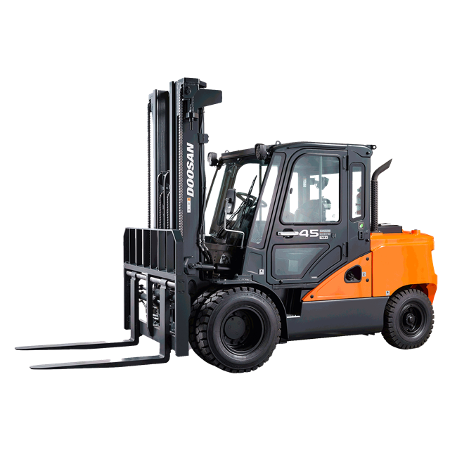 Forklift Hyster 10 000lbs 15ft diesel