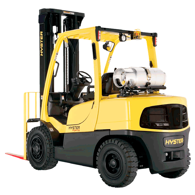 Forklift Hyster 12000lbs 14ft diesel
