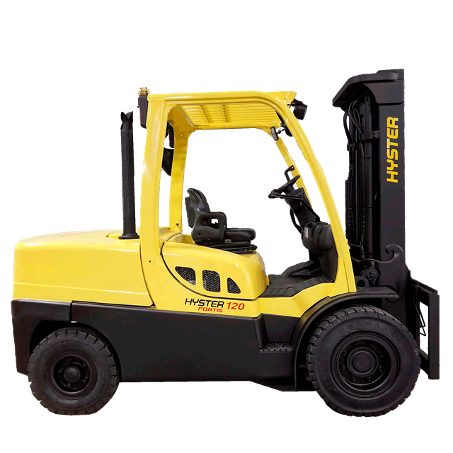 Forklift Hyster 12 000lbs 14ft diesel