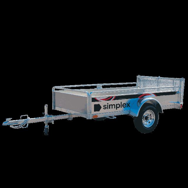 Open trailer 1500lbs 4ft x 8ft