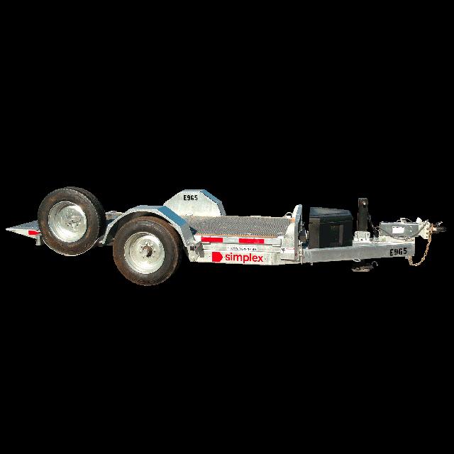 Tilting trailer 6000lbs 5ft x 10ft