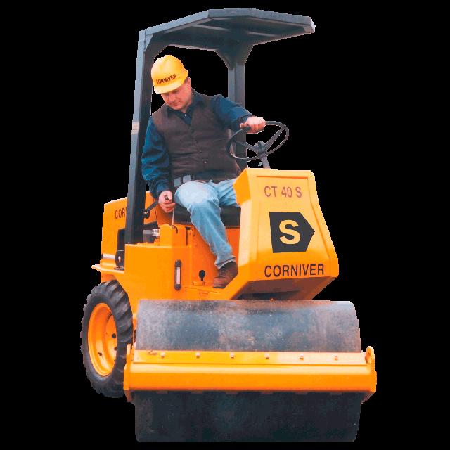 Compactor roller diesel