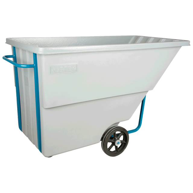 Chariot basculant 1.1verge cube 1250lbs