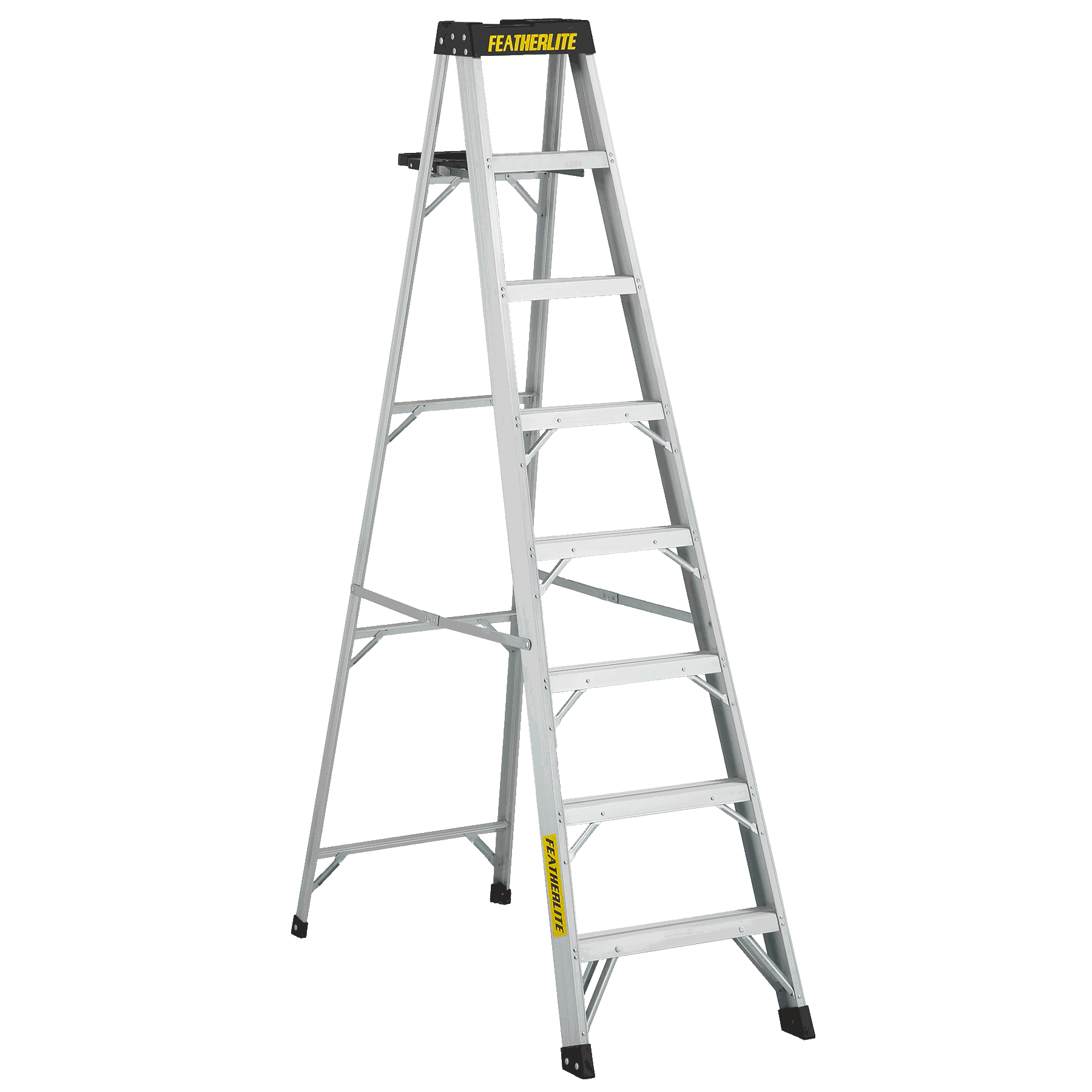 Aluminium stepladder 8ft
