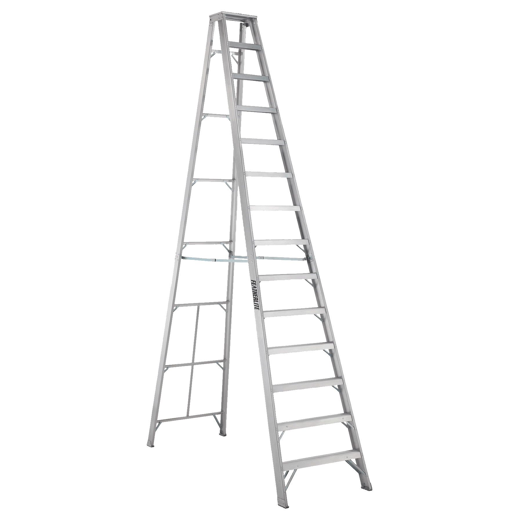 Aluminium stepladder 14ft