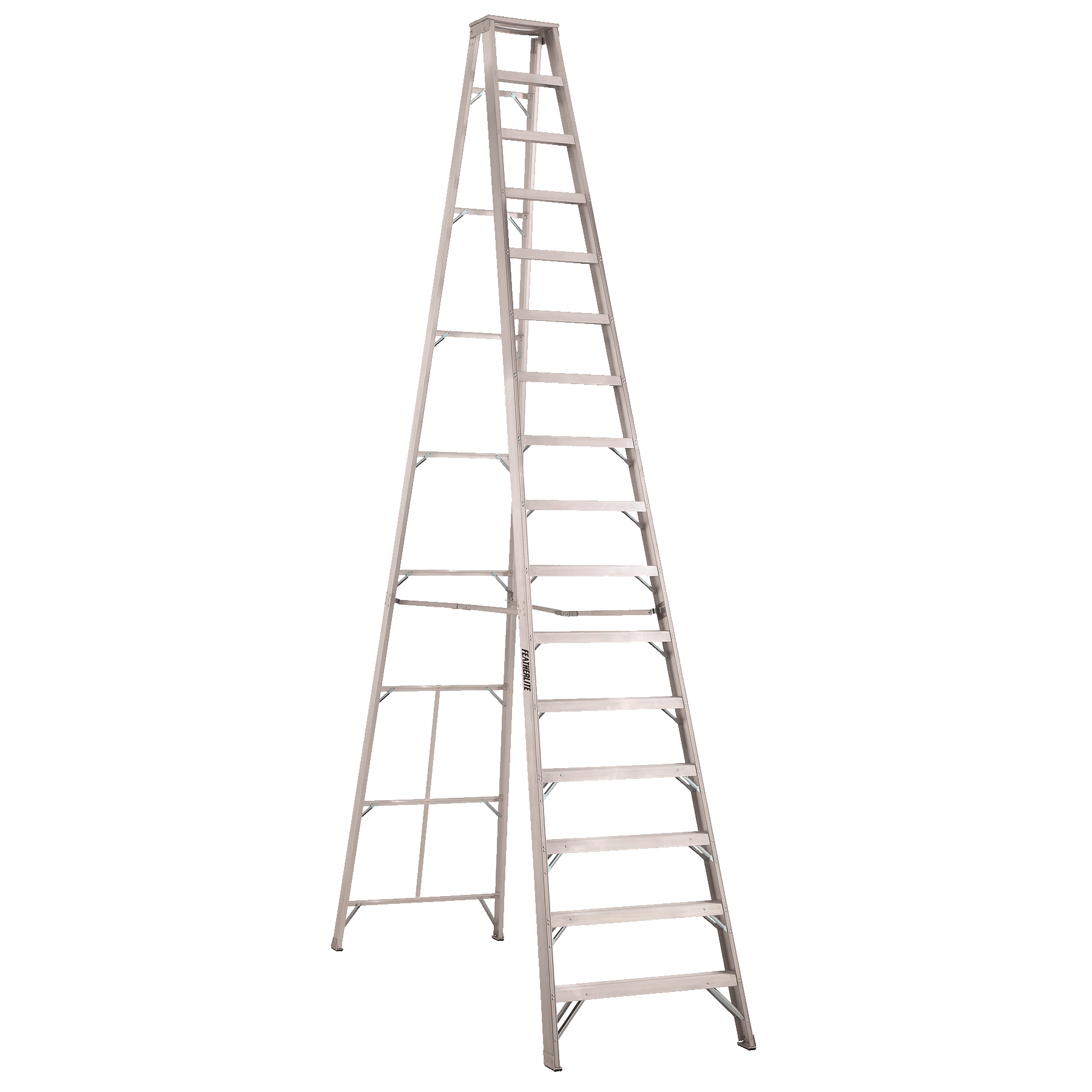 Aluminium stepladder 16ft