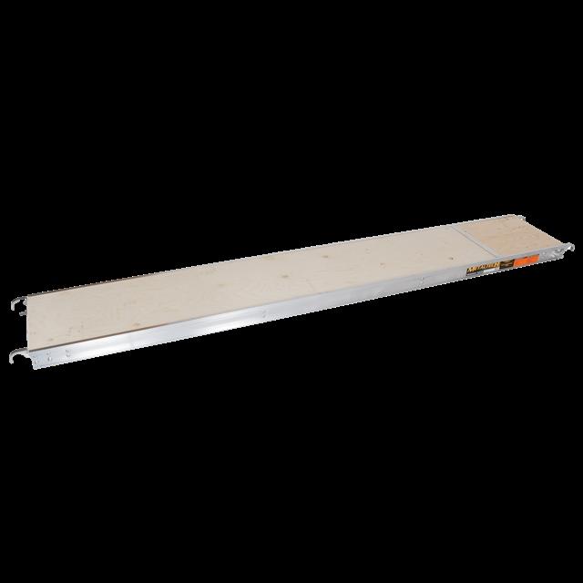 Plank aluminium plateform 10ft x 19in