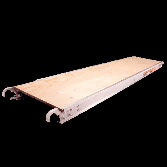 Plank aluminium plateform 7ft x 19in
