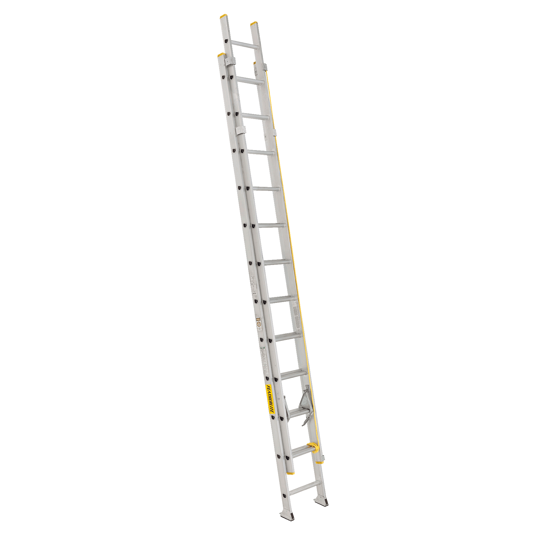Aluminium ladder 24ft