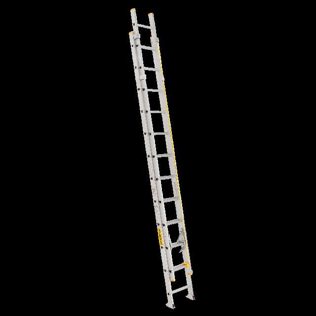 Aluminium ladder 24ft