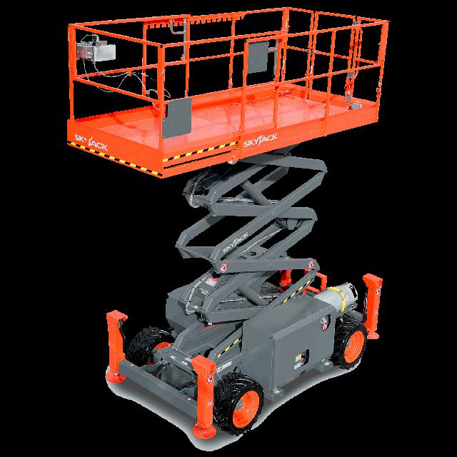 Scissor lift 32ft gas or propane