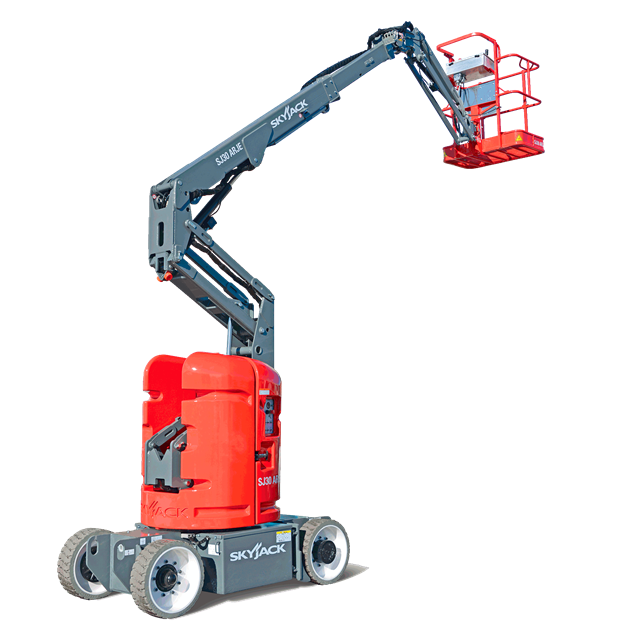 Articulated boom 30ft battery