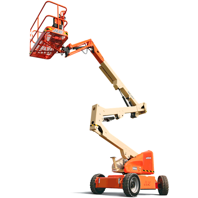 Articulated boom JLG 45ft battery