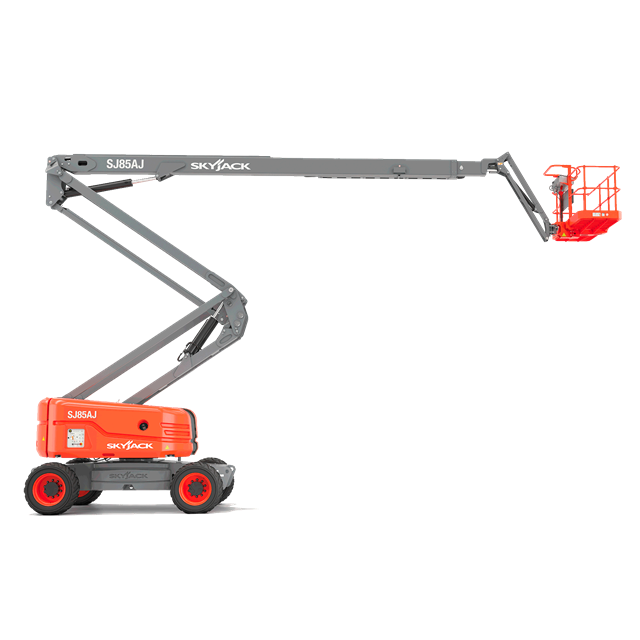 Articulated boom 85ft gas or propane