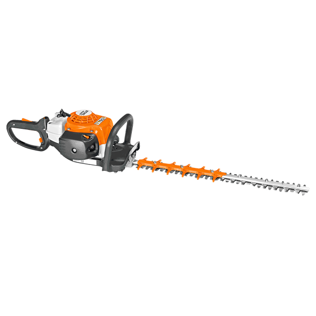 Hedge trimmer mixed gas