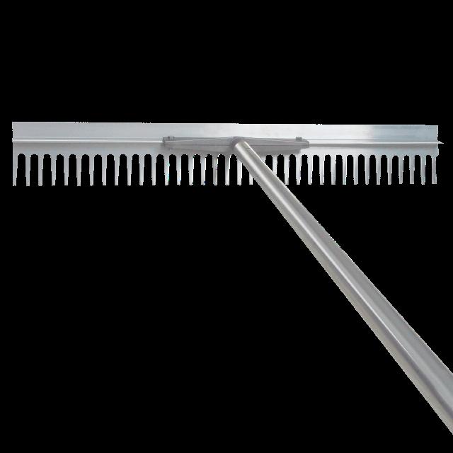 Asphalt rake