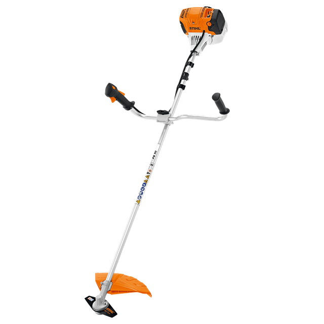 Brushcutter mixed gas