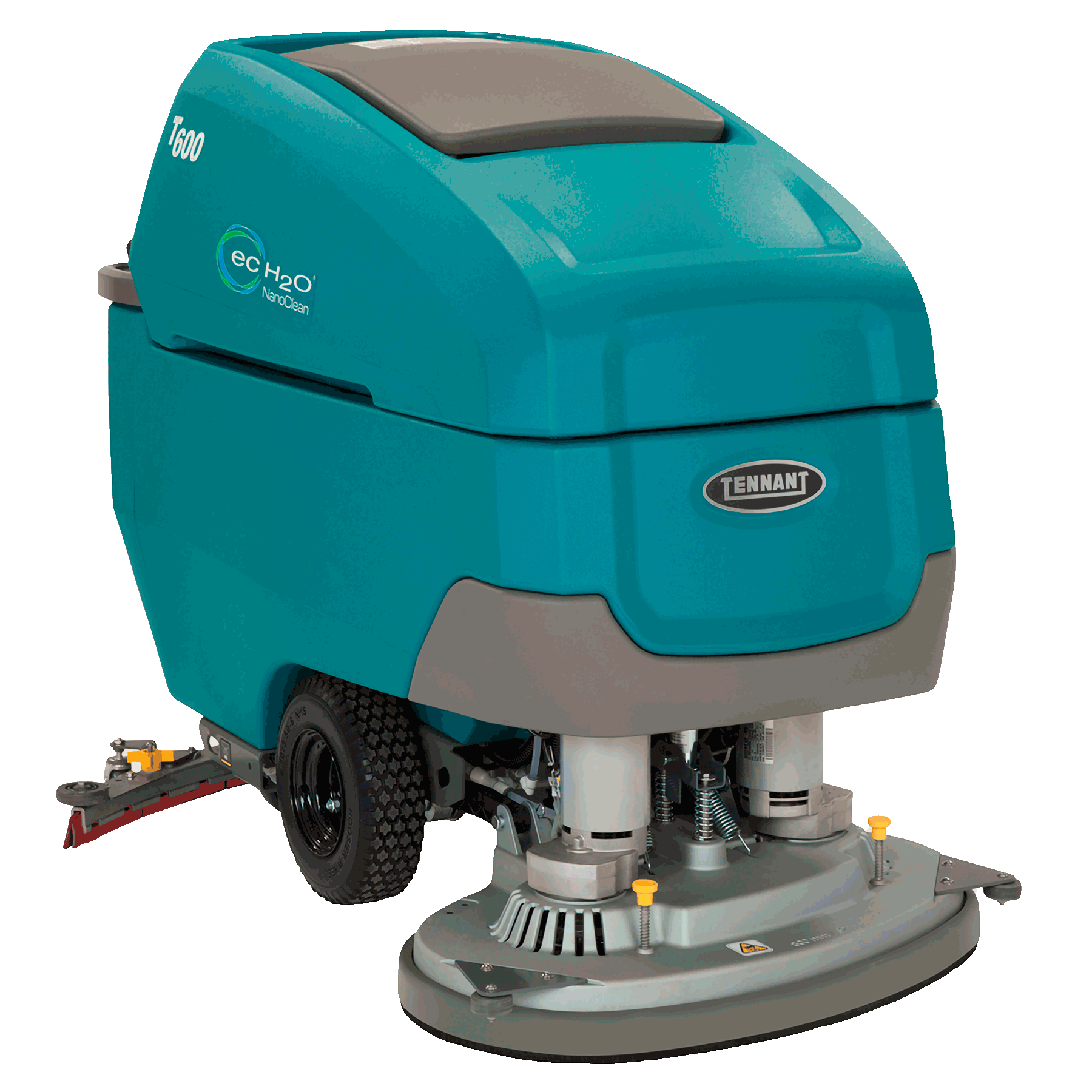 Battery floor scrubber 16in