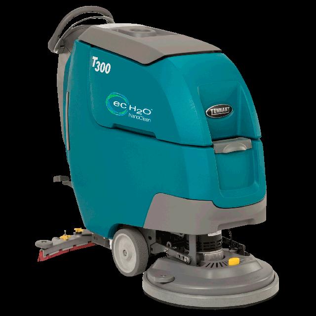 Battery floor scrubber 20in