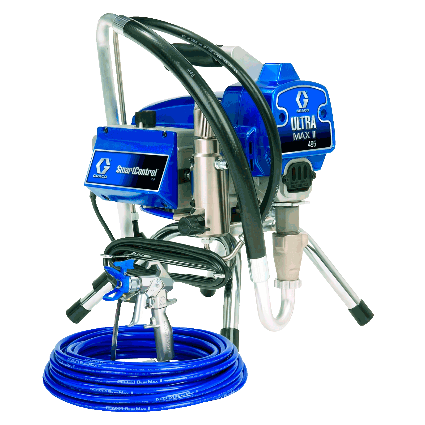 Airless paint sprayer electric