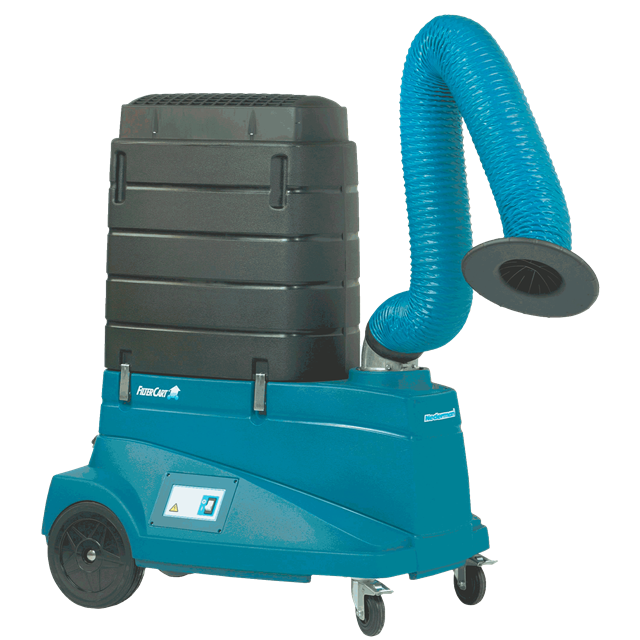 Fume extractor electric