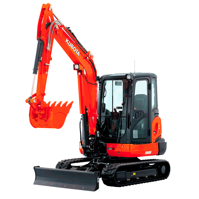 Tracked excavator 9383lbs 67in